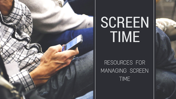 Screen Time Banner